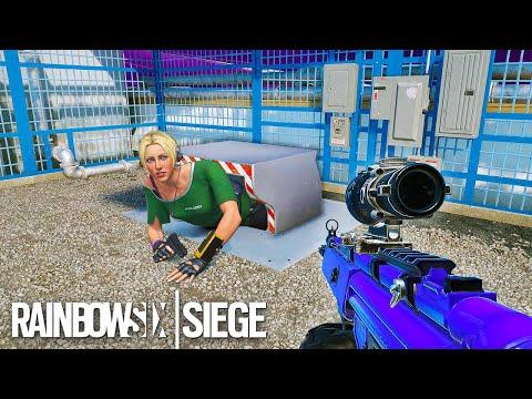 RAINBOW SIX SIEGE FAILS: #53 (Rainbow Six Siege Random Moments)