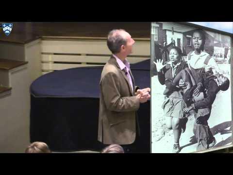 Wilhelm Verwoerd Visits Gilman School in Baltimore, MD.