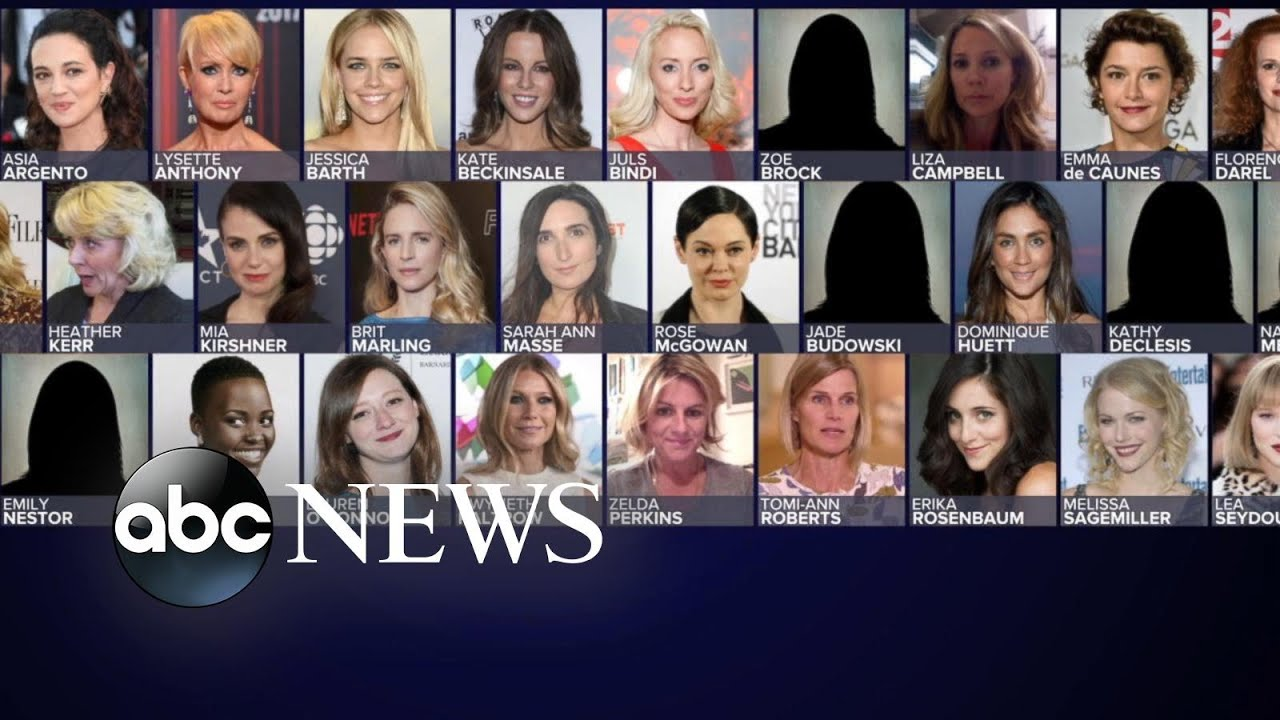 The women who brought down Harvey Weinstein l ABC News Смотри на OKTV.uz