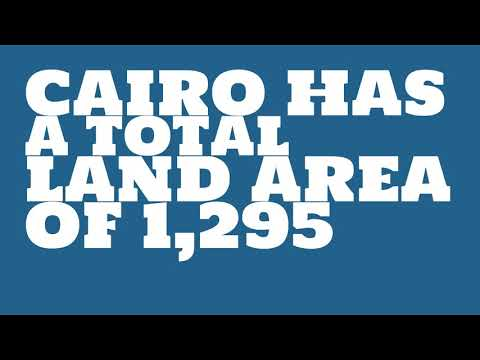 What is the population of Cairo?