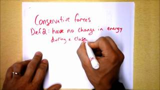 Conservative vs. Nonconservative Forces | Doc Physics