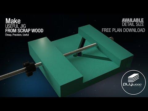 Useful Jig From Scrap Wood - FREE PLAN DOWNLOAD