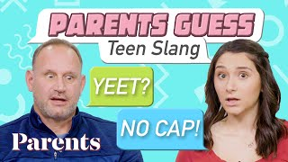 Parents Try to Guess the Meaning of their Teen's Slang | Teensplaining
