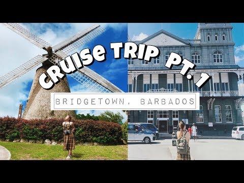 CRUISE TRIP PART 1: BRIDGETOWN, BARBADOS