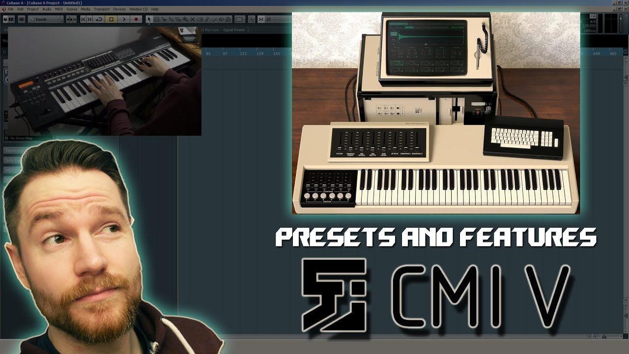 Noodling Around with Arturia's CMI V - Presets and Features