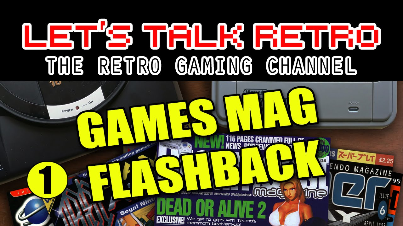 Games Mag Flashback (Episode 1) - Let's Talk Retro