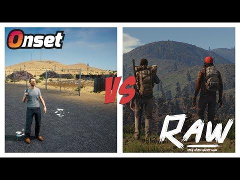 Onset vs RAW - A new era of MMORP