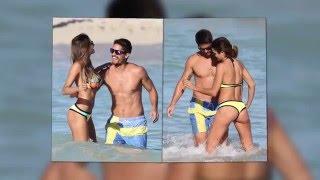 La atleta paraguaya Leryn Franco se ve perfecta en las playas de Miami