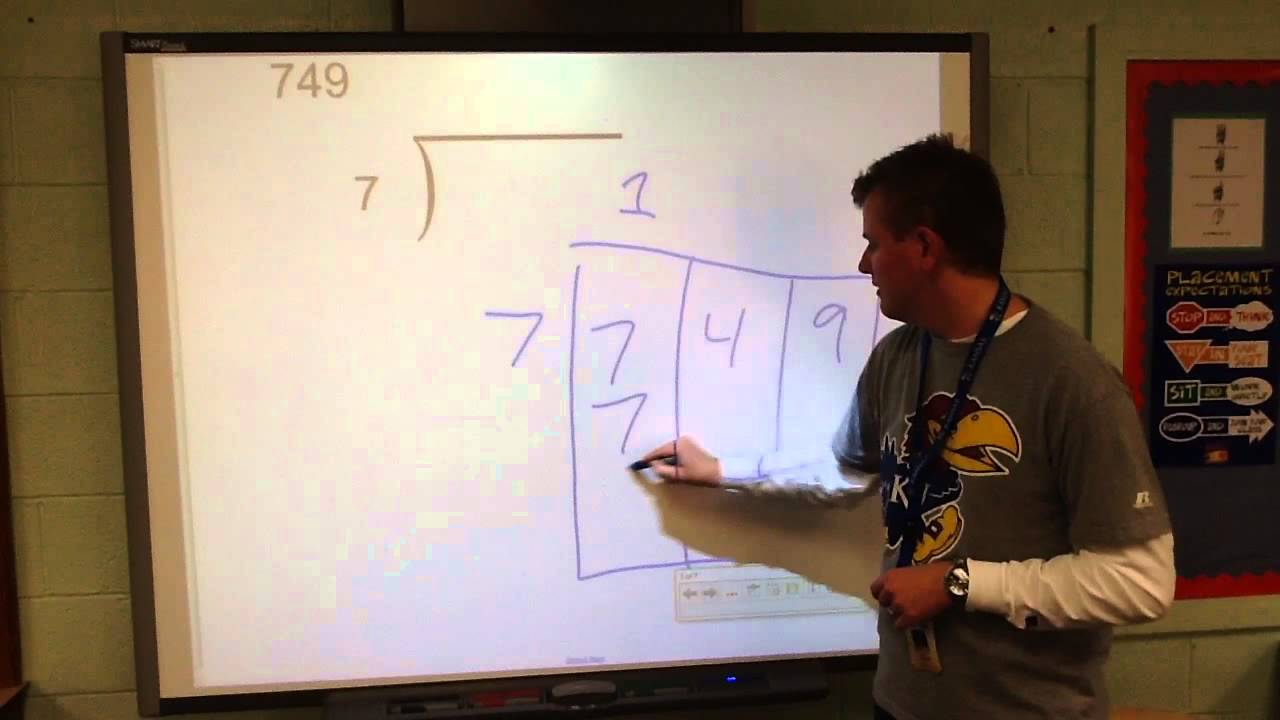 Long Division Box Method