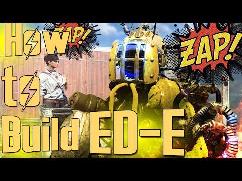 Fallout 4 Console Mods - How To Build ED-E Companion (XBOX/PC) Automatron Robot Builds DLC