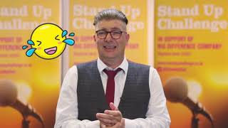 Sponsor Russell Irwin for the Stand Up Challenge 2018