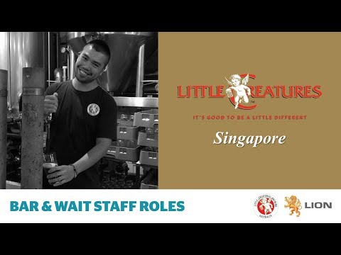 Little Creatures Singapore brewery - bar & wait staff roles