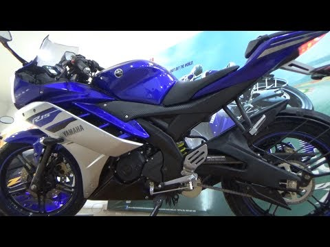 HEADLIGHT & EXHAUST SOUND OF NEW YZF R-15 VERSION 2.0 BSIV WITH AHO