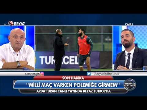(..) Beyaz Futbol 8 Ekim 2016 Kısım 2/5 - (Arda Turan Beyaz Futbol'da)