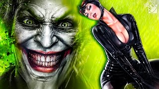 ВНЕЗАПНЫЙ ДЖОКЕР И ЖЕНЩИНА КОШКА! (Batman: Arkham Knight) #3