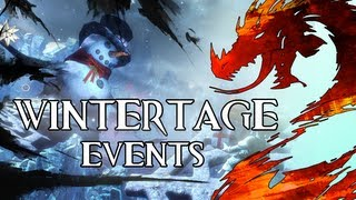 Guild Wars 2 - Wintertage Events (Winterwunderland, Schneeballkrawall, Glockenspiel-Ensemble)