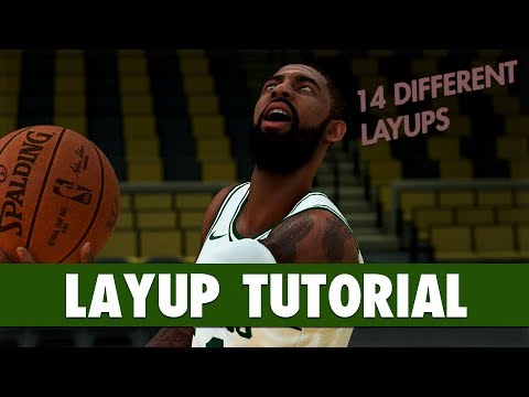 NBA 2K19 - LAYUP Tutorial: Eurostep, 360, Jelly, Reverse, Euro-Floater, Spin, Between The Legs