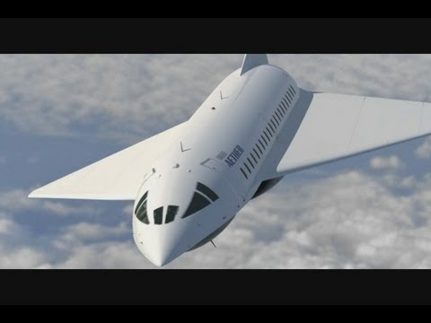 Aether - My Dream Super Sonic Commercial Jet