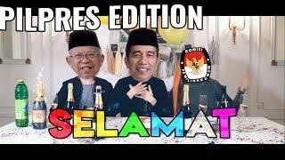 Congratulations Pilpres 2019 Edition Selamat Pak Prabobo