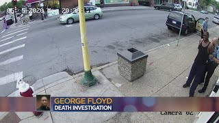 The Moments Before George Floyd's Death