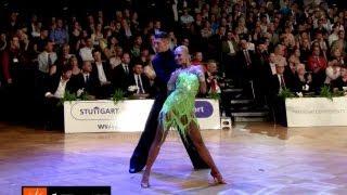 Miha Vodicar - Nadiya Bychkova, GOC Stuttgart 2013, WDSF Grand Slam latin, 6. round - jive