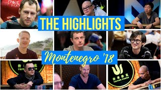 Phil Ivey, Tom Dwan and Jungleman Join the Fun in Montenegro: The Best Bits of the Triton SHR Series