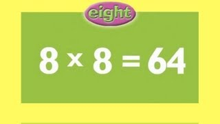 8 Times Tables | Kids Multiplication Song | Children Love to Sing