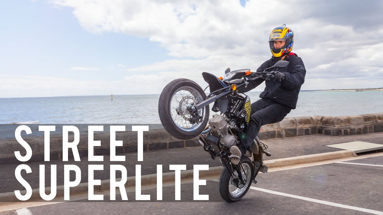 The Braaap Street Superlite Road Legal Pitbike Lifetime