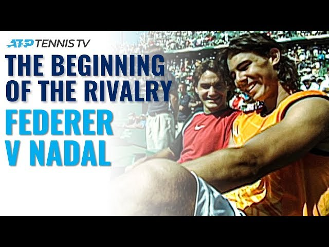 Federer vs Nadal: The Beginning of the Rivalry in Miami!
