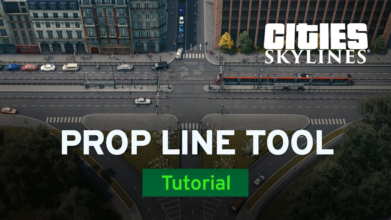 Prop Line Tool with Skibitth and Alterran | Mod Workshop | Cities: Skylines