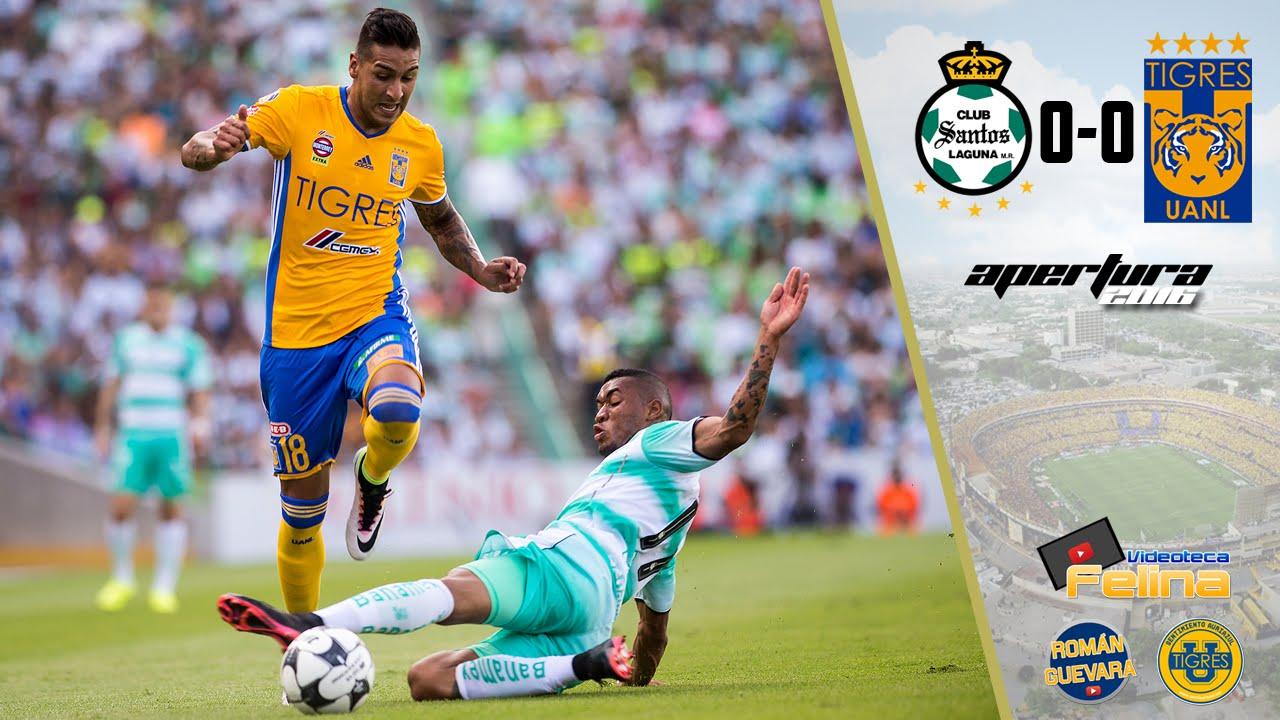 Santos Vs Tigres 0 0 Jornada 1 Apertura 2016 Liga Mx Hd