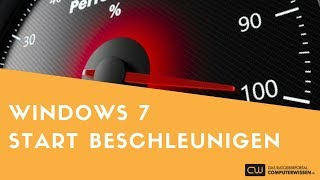 Windows 7 Start beschleunigen - TUTORIAL