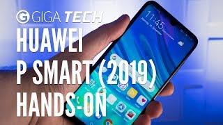HUAWEI P SMART 2019 im Hands-On (deutsch): Handy für 2019 mit Retro-Buchse – GIGA.DE