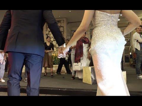 Matteo & Sarah at the ABS-CBN Ball