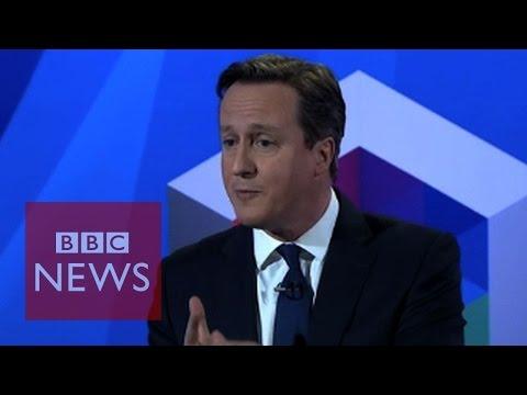 "David Cameron says ""I rejected child benefit cut"" BBC News"
