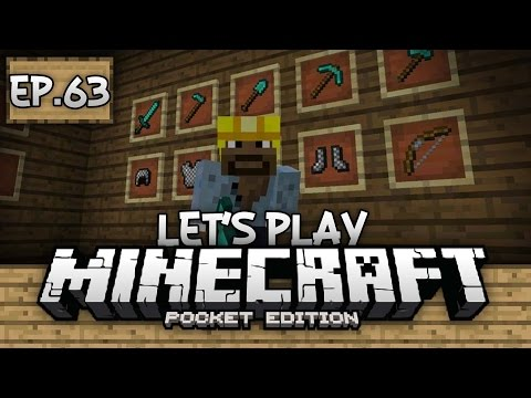 Survival Let's Play Ep. 63 - 0.14.0 FEATURES!!! - Minecraft PE (Pocket Edition)