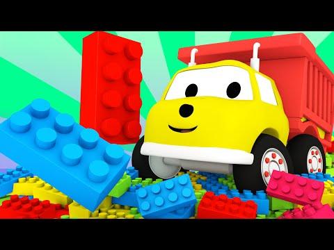 Nauka Kształtów z LEGO Ucz Się z Ethanem Śmieciarką Bajki Edukacyjne dla Dzieci