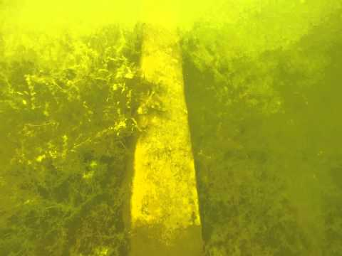 Underwater mining track