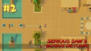 Serious Sam's Bogus Detour прохождение игры - Уровень 2: Публичная библиотека #1 (All Secrets Found)
