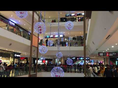 Phoenix Mall Bangalore New Year Decoration #2018 #Bye2017