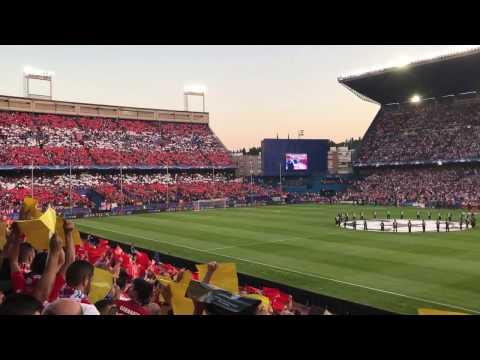 Atletico Madrid - Leicester FRENTE ATLETICO