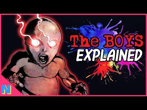 Amazon Prime's The Boys: Everything You NEED To Know About The Comic