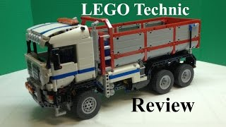 LEGO Technic 6x6 Modular Dump Truck Review