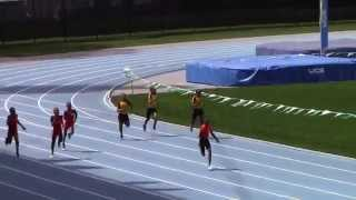 Icahn Stadium 2015 11 & 12 boys 200m