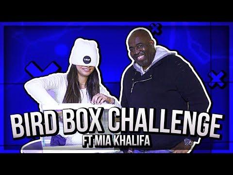 Mia Khalifa Takes On The AFTV Bird box CHALLENGE!