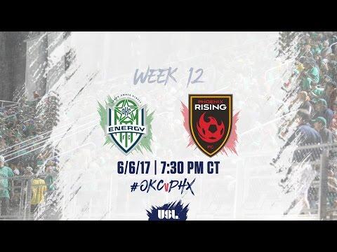 USL LIVE - OKC Energy FC vs Phoenix Rising FC 6/6/17