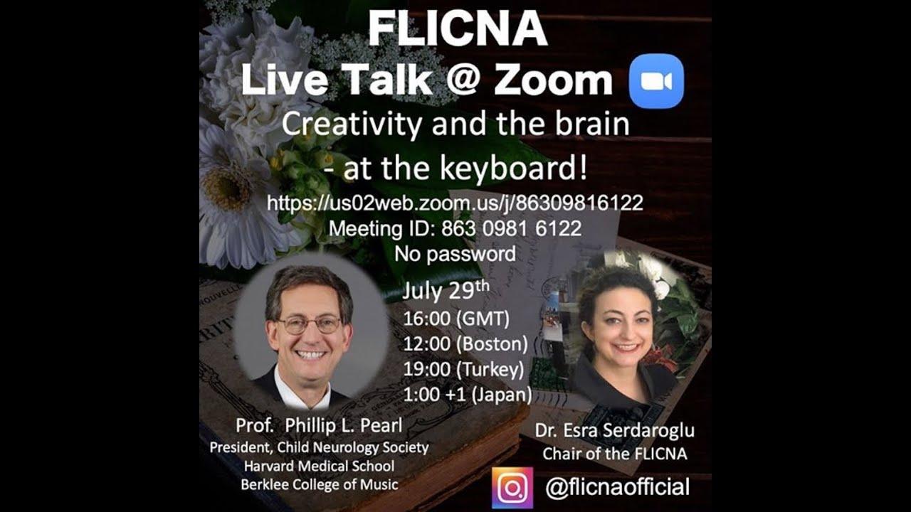 Phillip L Pearl on Creativity & the Brain (FLICNA Live Talks)