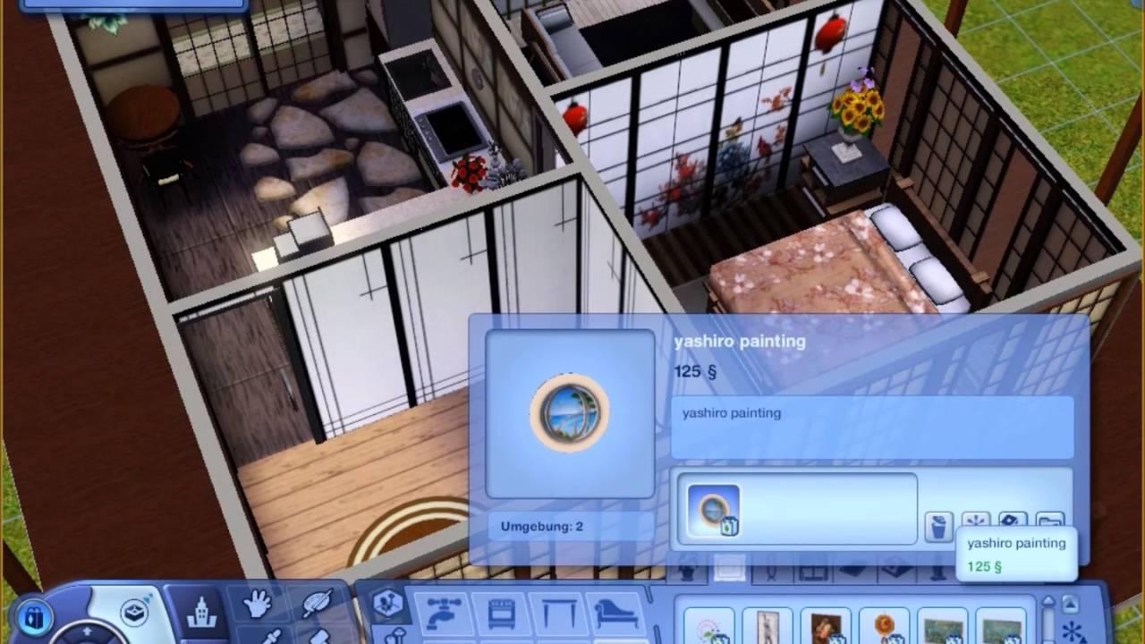 Sims 3 speedbuild japanese dream house youtube for Japanese dream house