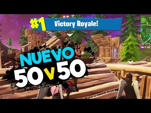 Fortnite | Nuevo Modo: 50v50 Version 2