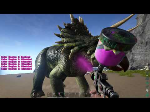 Ark Survival Evolved Automatic Spray Paint Gun Hands on Review